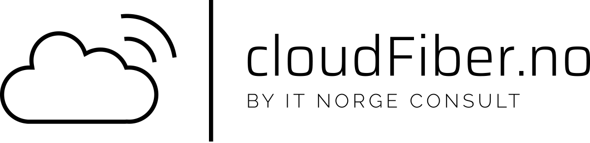 cloudFiber.no - by IT Norge Consult logo
